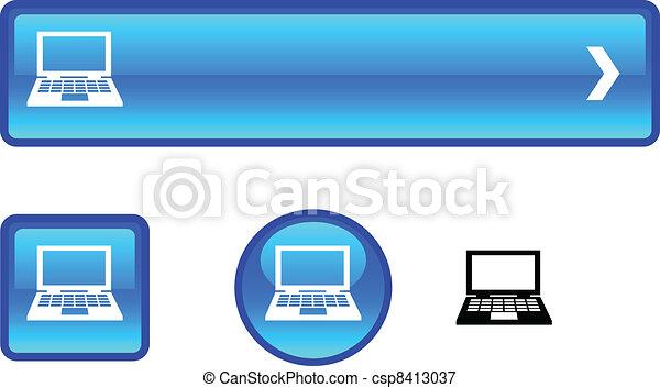 Notebook button set. - csp8413037