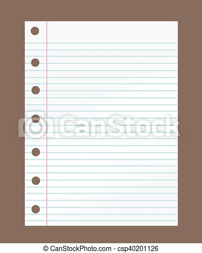 Notebook paper - csp40201126