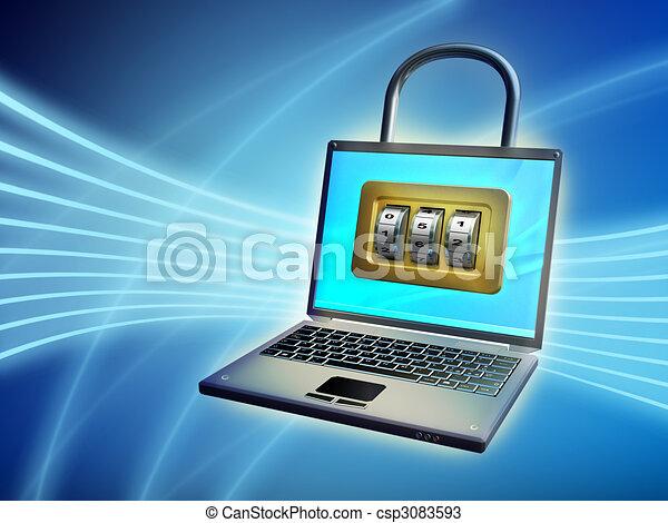 Notebook security - csp3083593