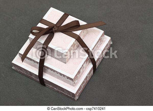 notelet gift - csp7410241