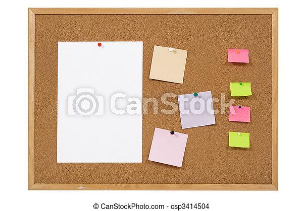 notice board - csp3414504