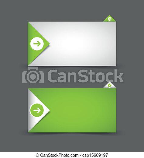 notificação, janela, modelo - csp15609197