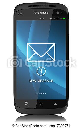 Notificación de SMS - csp17399771