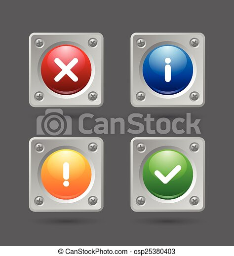 Notification icons - csp25380403