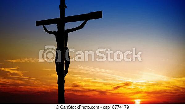 notre, christ, sauveur, jésus - csp18774179