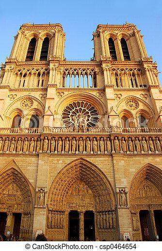Notre Dame de Paris - csp0464654
