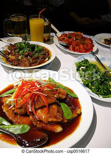 nourriture, asiatique - csp0016617