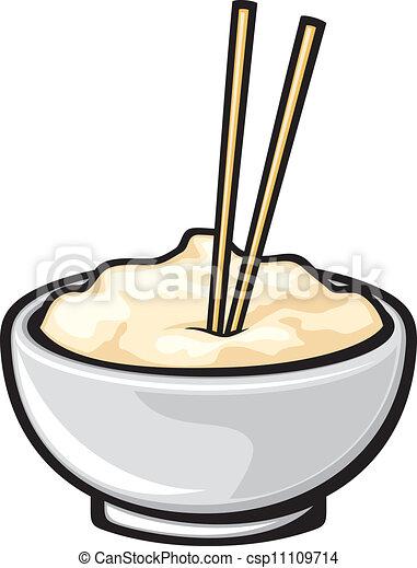 nourriture, baguettes, chinois - csp11109714