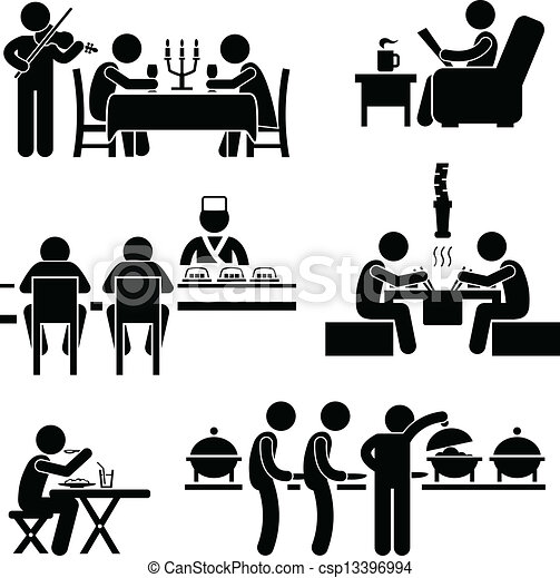 nourriture, café, boisson, restaurant - csp13396994