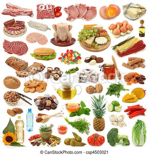 nourriture, collection - csp4503021