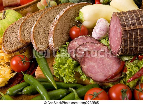 nourriture, composition - csp2732505