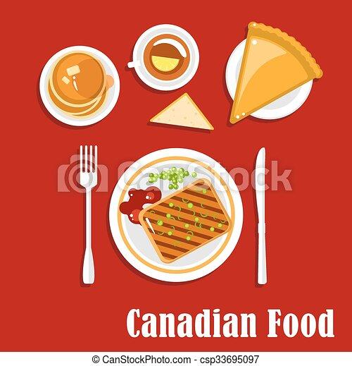 Nourriture Cuisine Boisson Petit Déjeuner Canadien