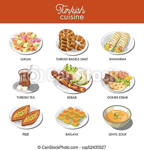 Nourriture cuisine traditionnel plats turc - Cuisine turc traditionnel ...