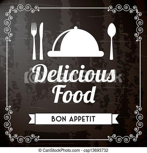 nourriture, délicieux - csp13693732