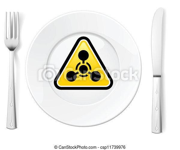 nourriture, dangereux - csp11739976
