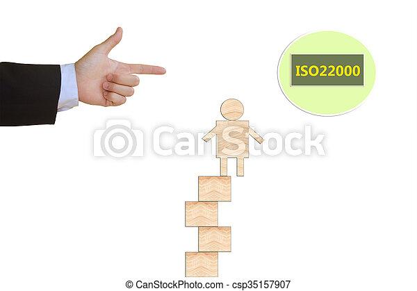 nourriture, gestion, sécurité, iso22000, specifying - csp35157907