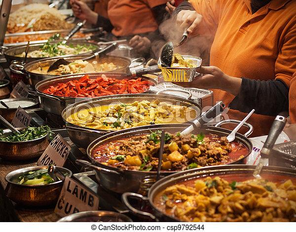 nourriture, indien - csp9792544
