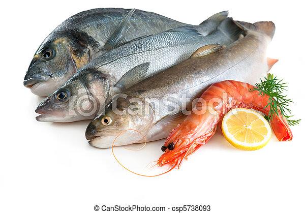 nourriture, mer - csp5738093