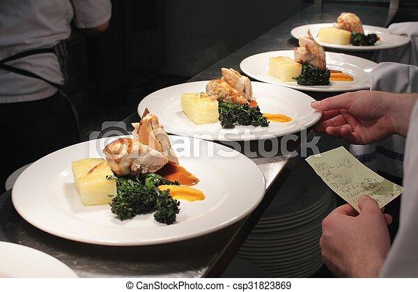 nourriture, plaqué - csp31823869