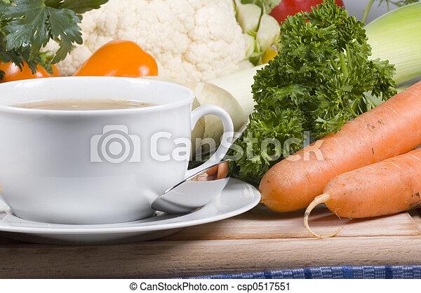nourriture, santé - csp0517551