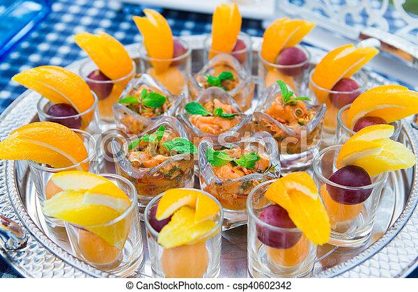 Fabuleux Image de nourriture, vendange, restauration, luxe, réception  EI19