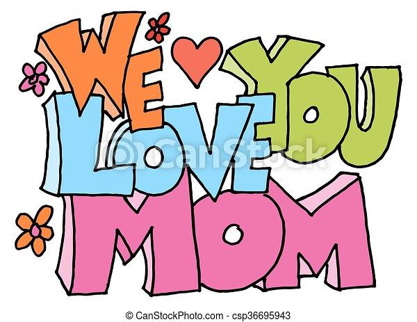 Nous Amour Message Maman Vous