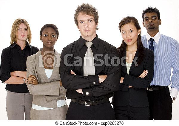 nous, business, moyenne - csp0263278
