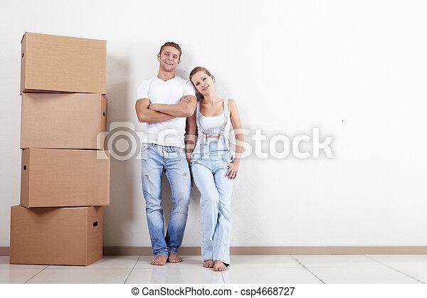 nouveau, appartement - csp4668727