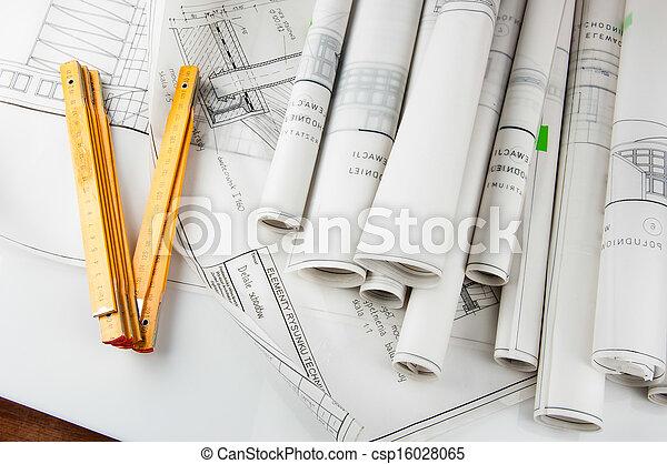 nouveau, construction, bâtiment, maison - csp16028065