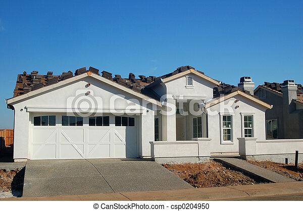 nouveau, construction - csp0204950