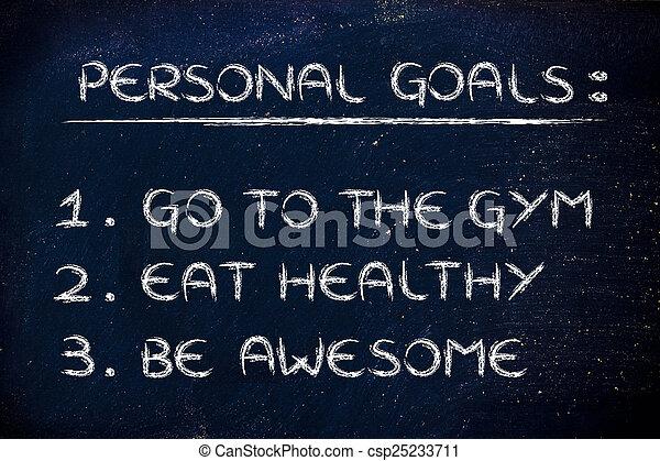nouveau, gymnase, année, resolutions:, fitness - csp25233711