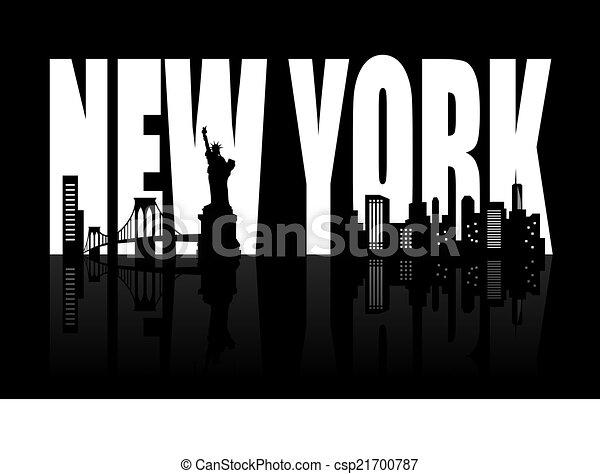 nouveau, horizon, york - csp21700787