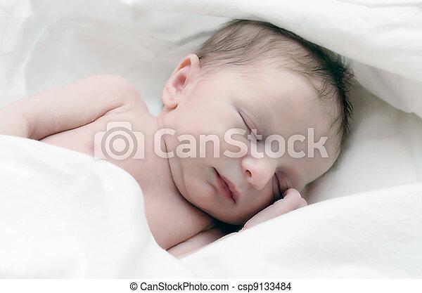 nouveau né, nourrisson - csp9133484