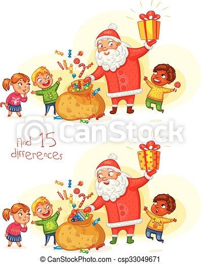 nouveau, noël heureux, joyeux, année - csp33049671