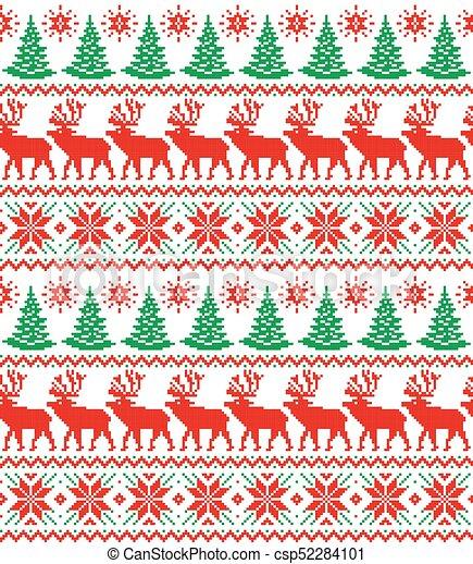 Nouvelle Année Pixel Noël Modèle