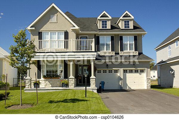 nouvelle maison - csp0104626