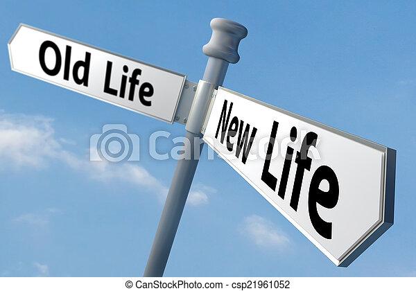 nouvelle vie - csp21961052