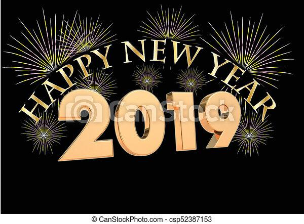 Novy Rok 2019 Render 3