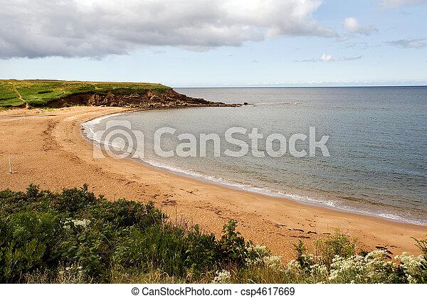 Nova Scotia beach - csp4617669