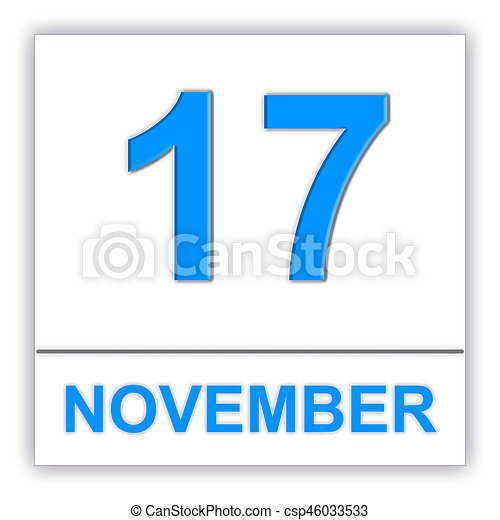 november 17 day on the calendar 3d illustration drawings search rh canstockphoto com