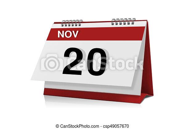 november calendar clipart