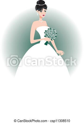 Hermosa novia - csp11308510