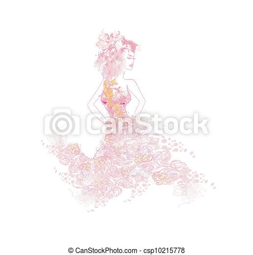 Hermosa novia - csp10215778