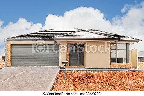 novo, construção, lar - csp22229793