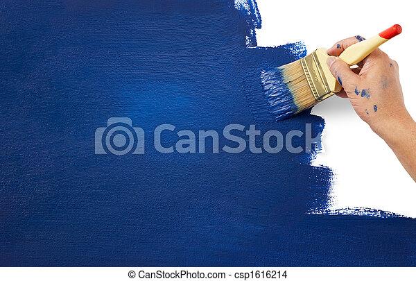 novo, era, pintura - csp1616214