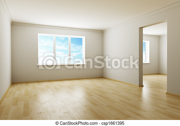 novo, sala, vazio - csp1661395