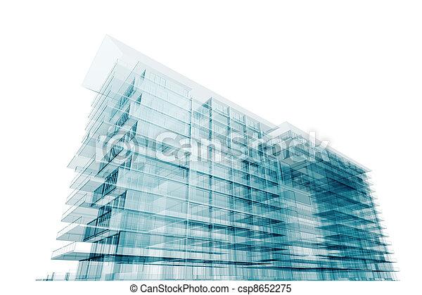novodobý stavebnictví - csp8652275
