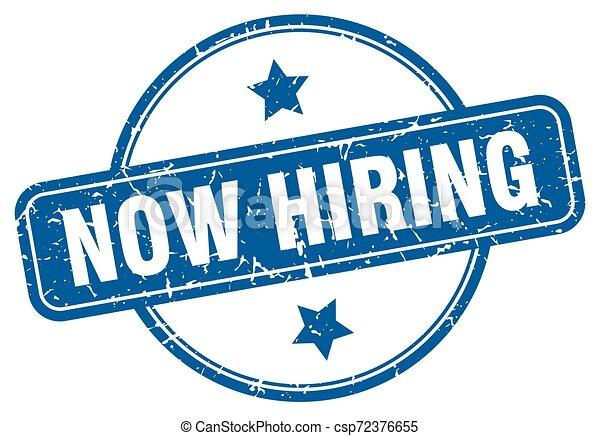 now hiring - csp72376655
