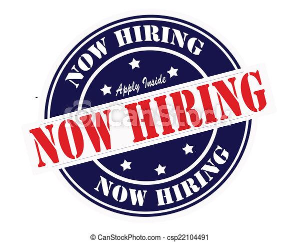 Now hiring - csp22104491