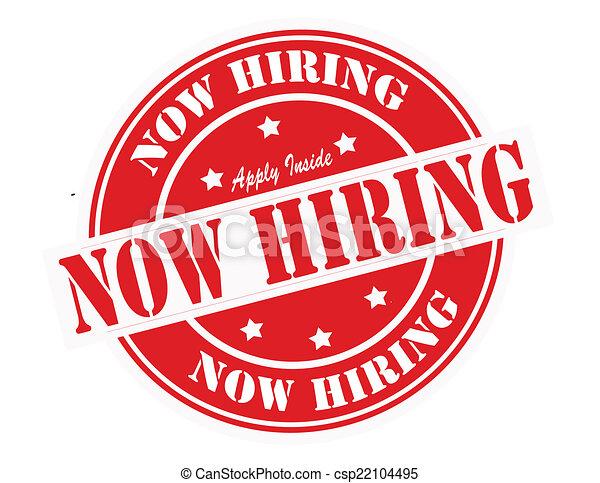 Now hiring - csp22104495
